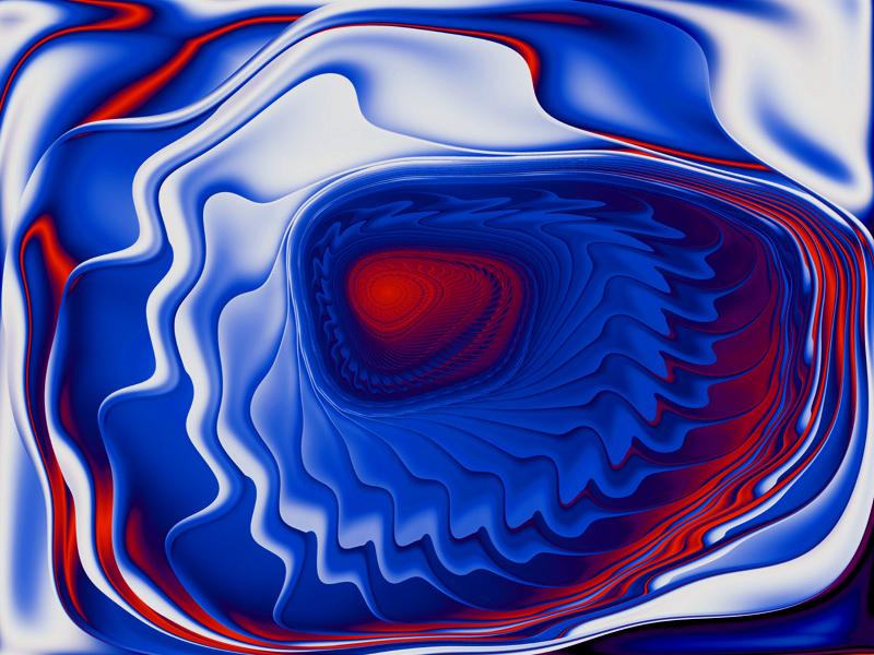 Fractal Art Wallpaper, Embrace