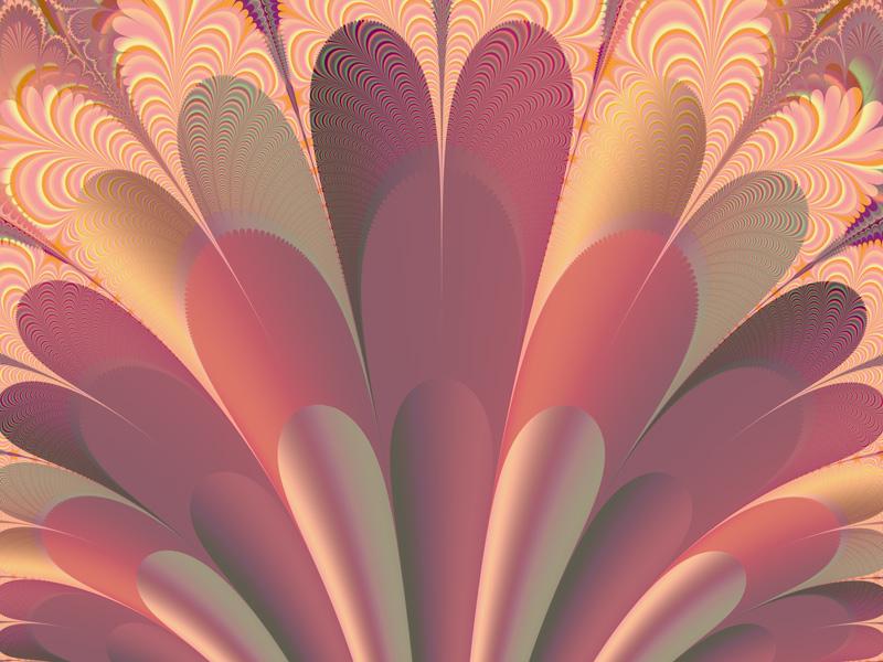 Fractal Art Wallpaper, Exultate