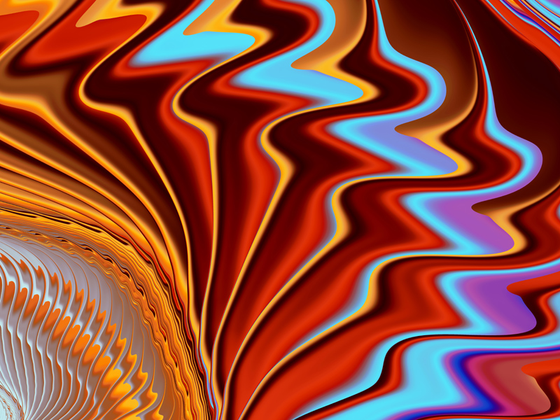 Fractal Art Wallpaper, Fandango