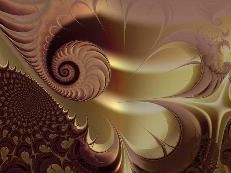 Fractal Art Wallpaper, Flesh