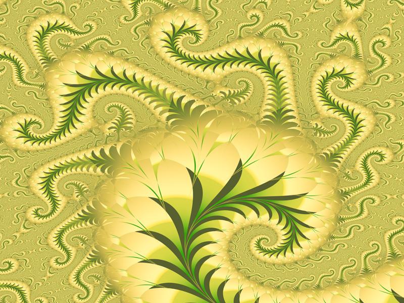 Fractal Art Wallpaper, Fractal Medusa