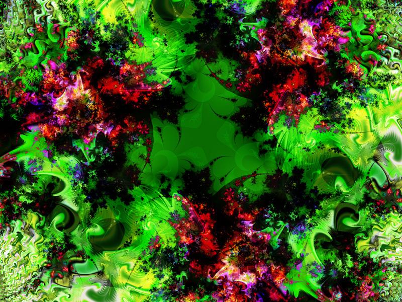 Fractal Art Wallpaper, Glitter 2