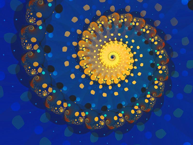 Fractal Art Wallpaper, Glitter 5