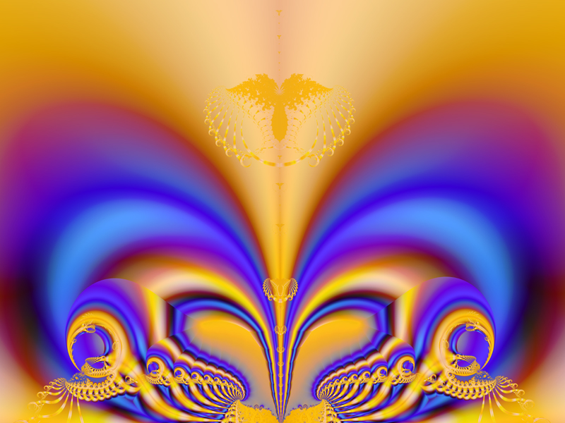 Fractal Art Wallpaper, Glory 2