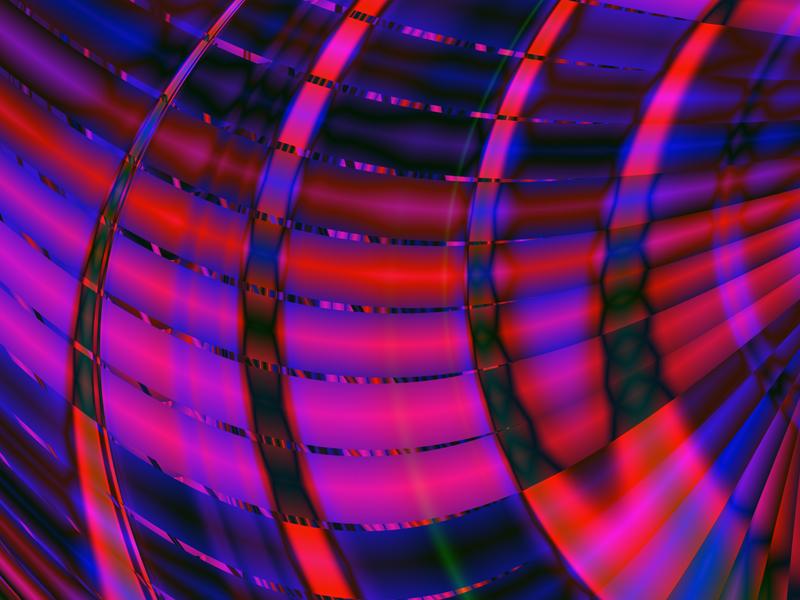 Fractal Art Wallpaper, Glow 2