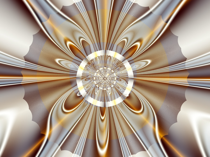 Fractal Art Wallpaper, Gossamer