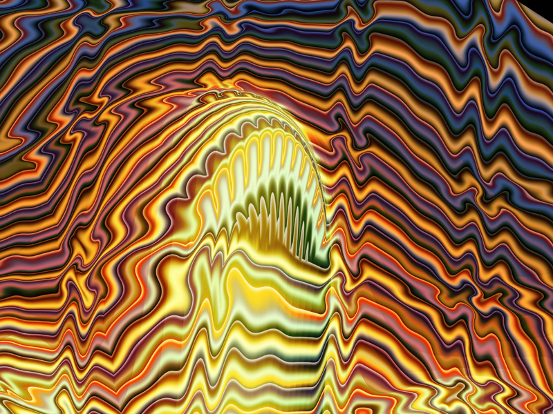 Fractal Art Wallpaper, Grand Erection