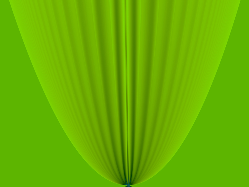 Fractal Art Wallpaper, Green 3