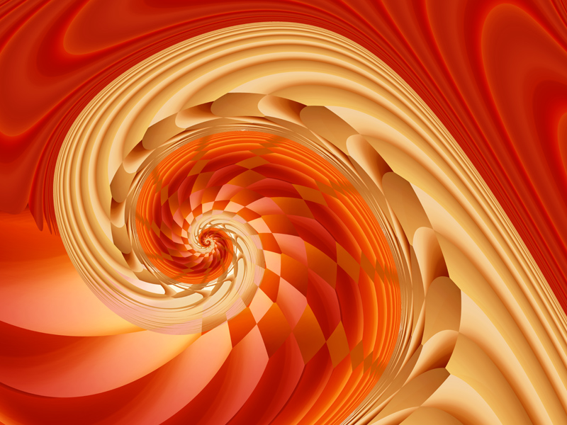 Fractal Art Wallpaper, Harlequin