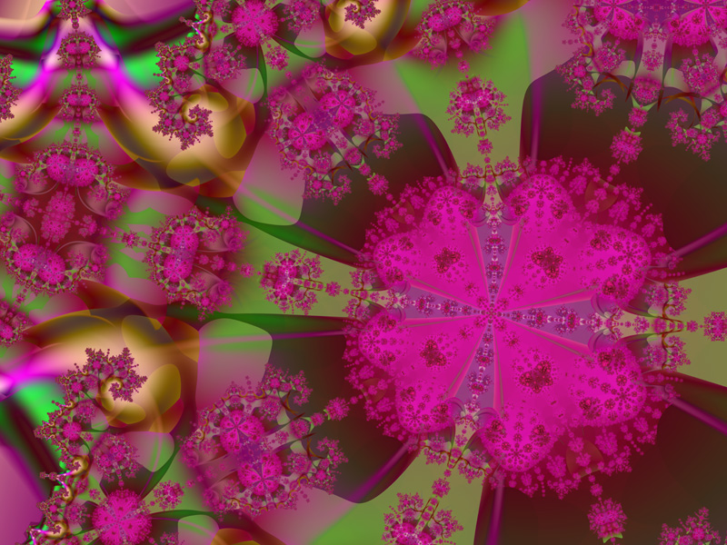 Fractal Art Wallpaper, Jubilee Wallpaper