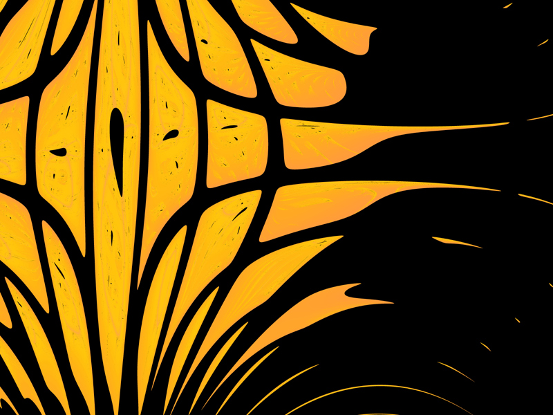 Fractal Art Wallpaper, Lantern