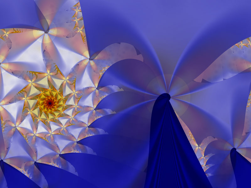 Fractal Art Wallpaper, Leonora