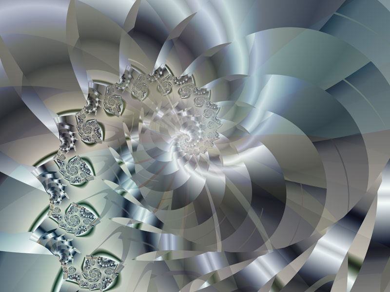 Fractal Art Wallpaper, Light 2