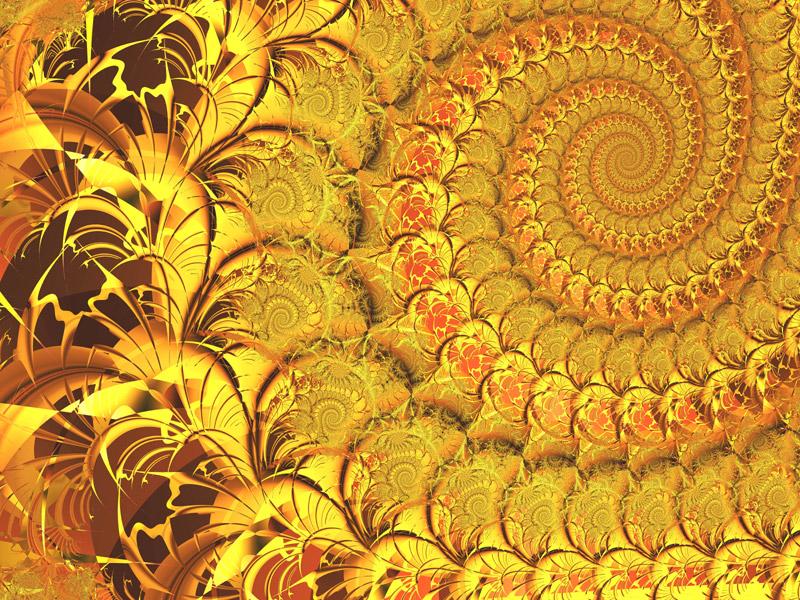 Fractal Art Wallpaper, Light 7