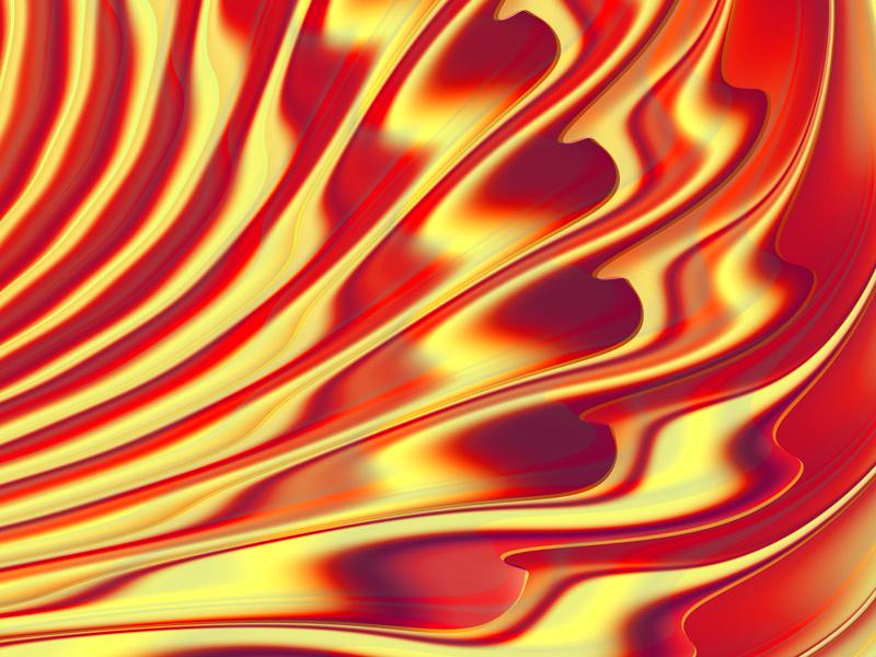 Fractal Art Wallpaper, Light 9