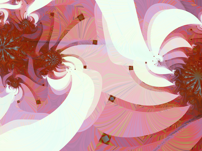 Fractal Art Wallpaper, Love