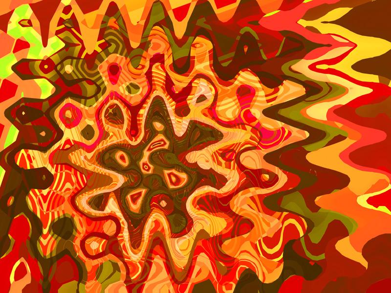 Fractal Art Wallpaper, Millennium 2