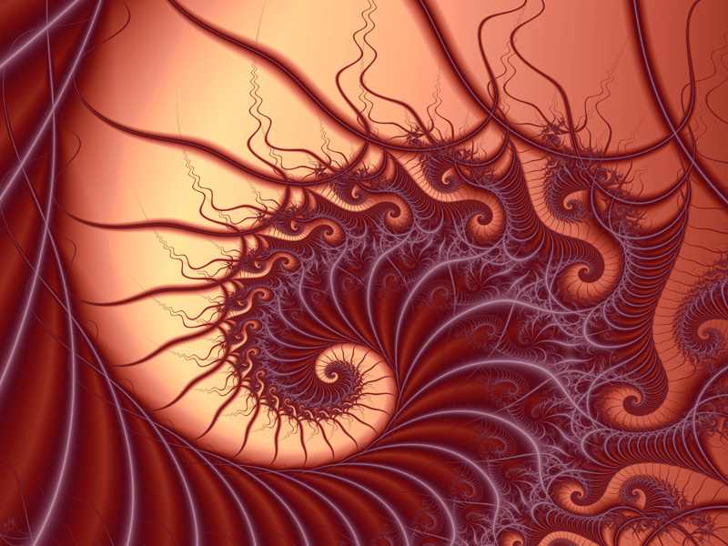 Fractal Art Wallpaper, Moonlight