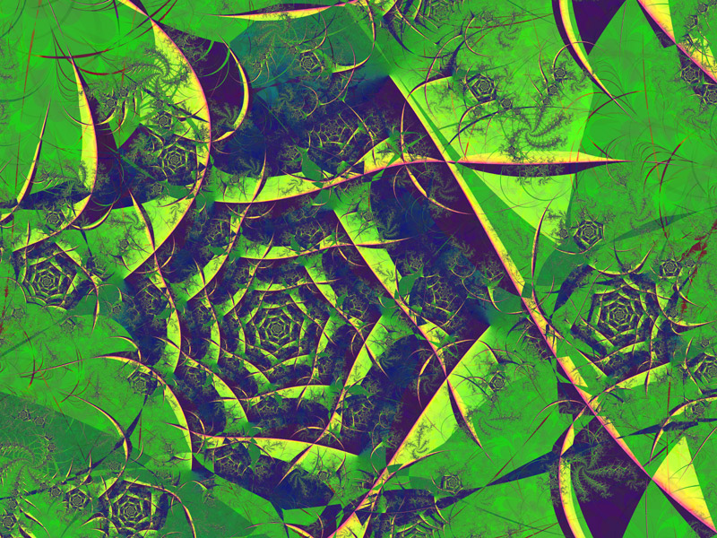 Fractal Art Wallpaper, Mystery