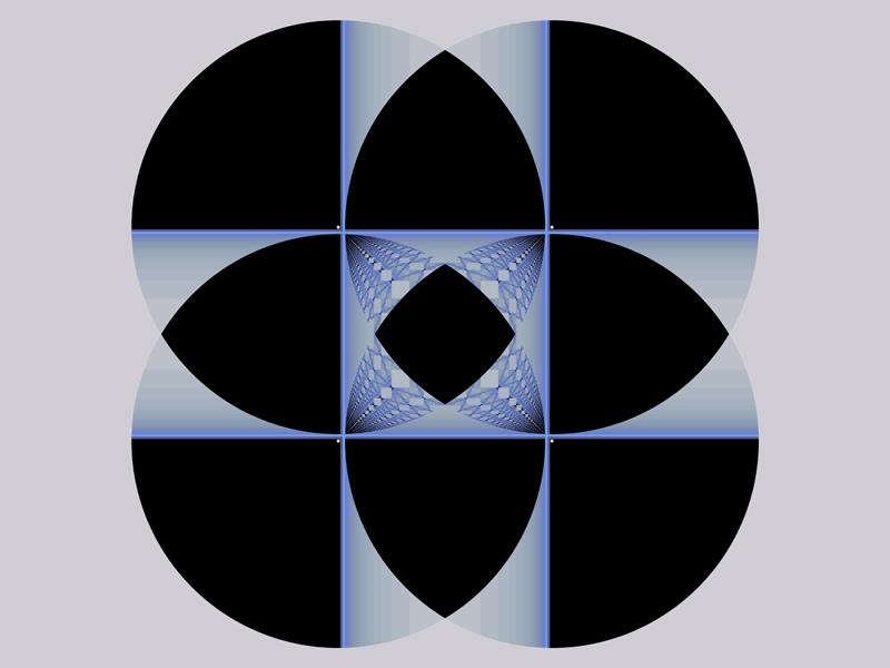 Fractal Art Wallpaper, New Geometry