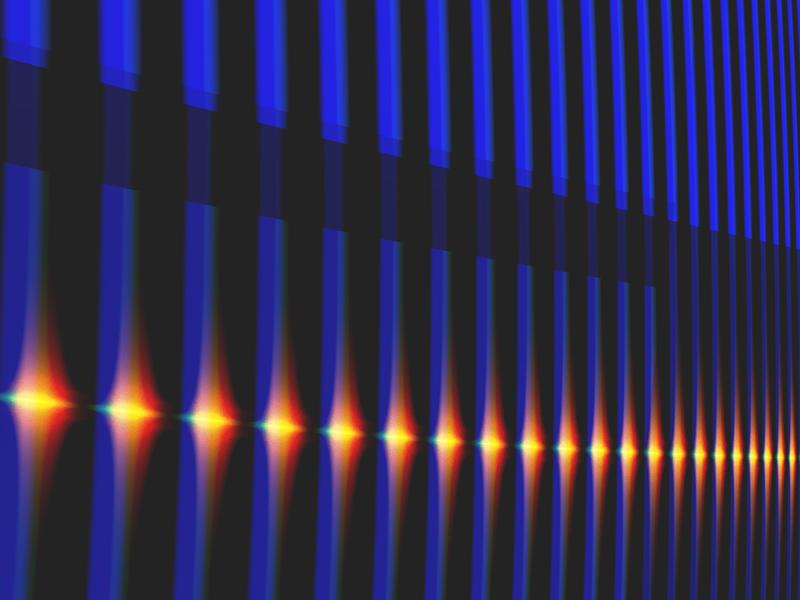 Fractal Art Wallpaper, Night Bridge