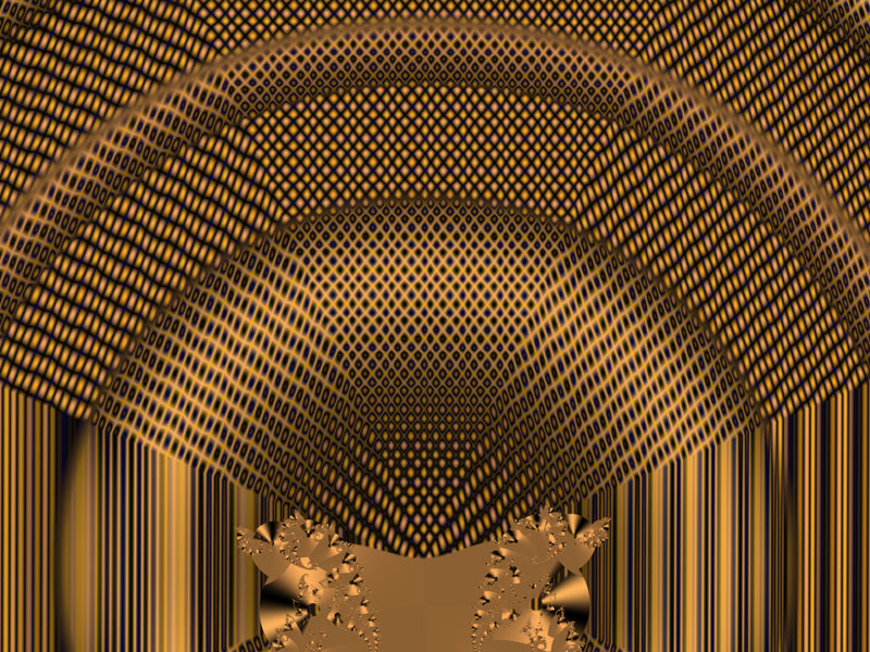 Fractal Art Wallpaper, Orgue