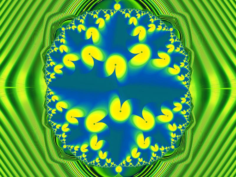 Pacman Wallpaper Fractal Art Wallpaper Gallery Fractals