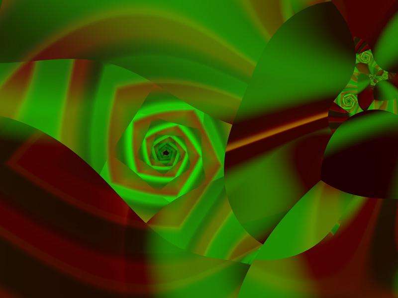 Fractal Art Wallpaper, Pinwheel 3