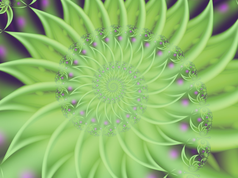 Fractal Art Wallpaper, Primavera