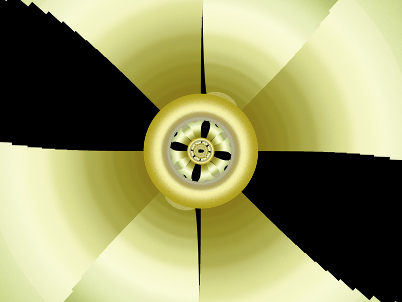 Fractal Art Wallpaper, Propeller