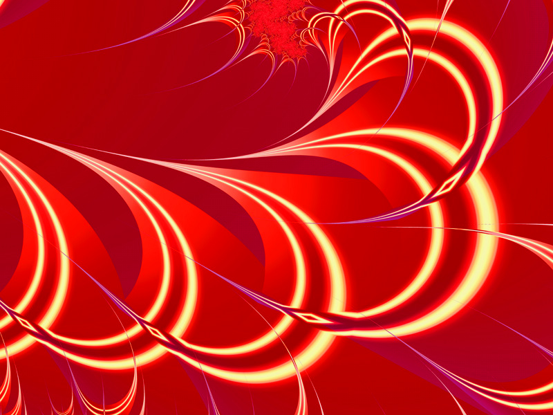 Fractal Art Wallpaper, Rapier Curve