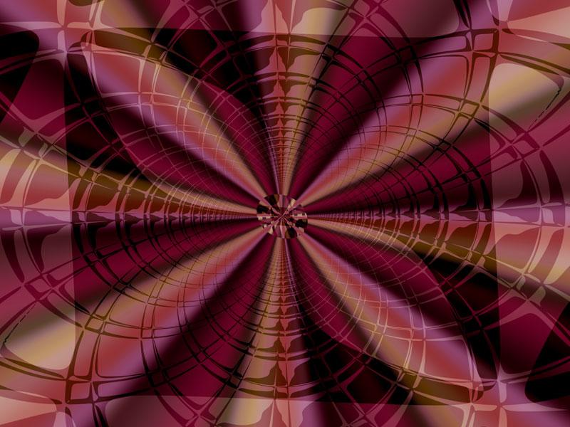 Fractal Art Wallpaper, Red Film