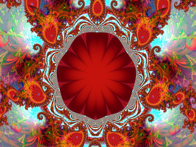 Fractal Art Wallpaper, Ruby Tuesday Wallpaper