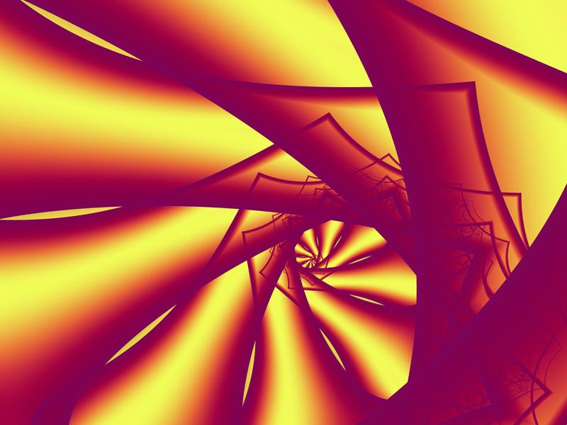 Fractal Art Wallpaper, Screen