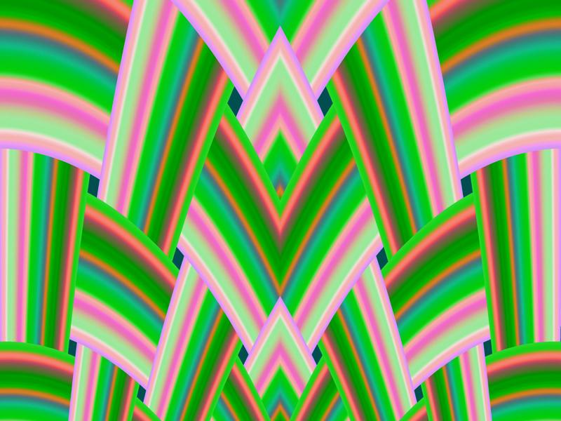 Fractal Art Wallpaper, Spring