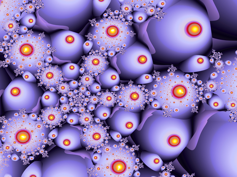Fractal Art Wallpaper, Strange Fruit 2