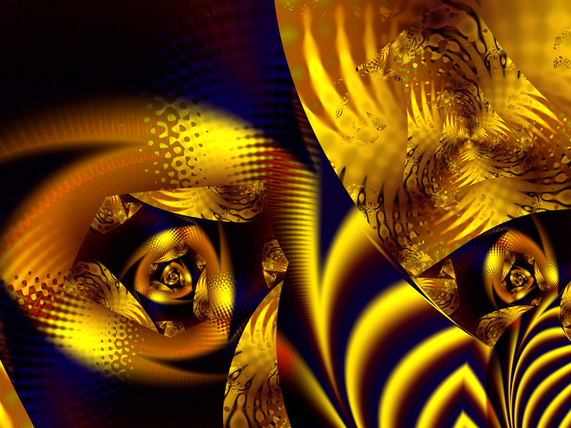 Fractal Art Wallpaper, The Night Sings