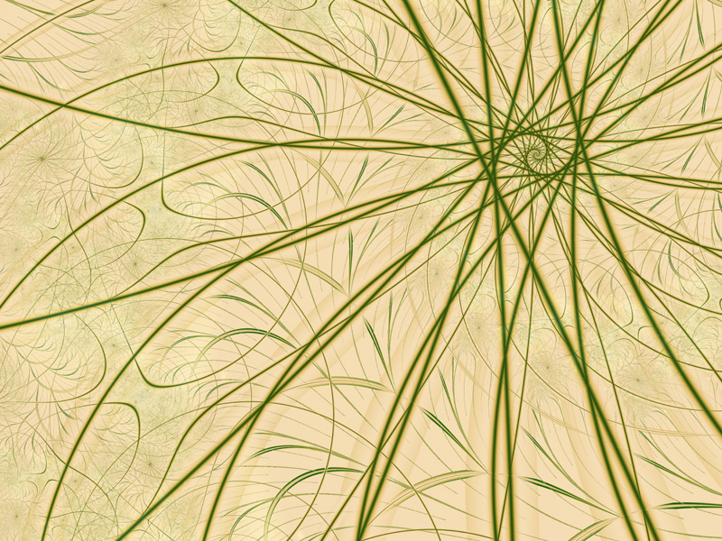 Fractal Art Wallpaper, Tracings