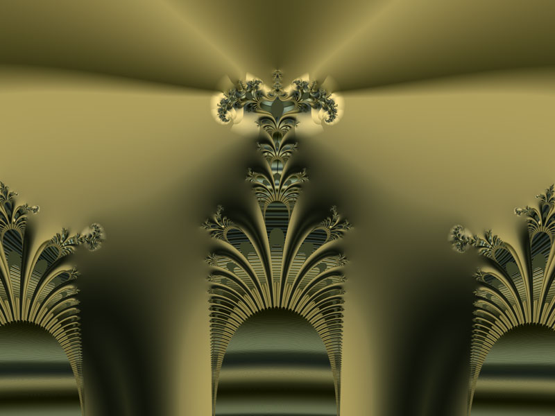 Fractal Art Wallpaper, Trinity