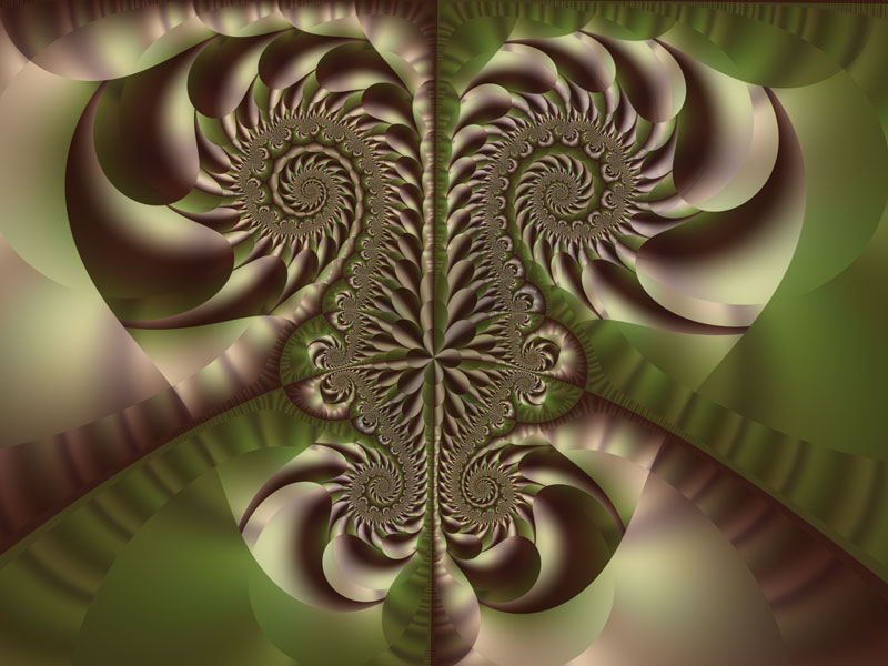Fractal Art Wallpaper,  Tyger