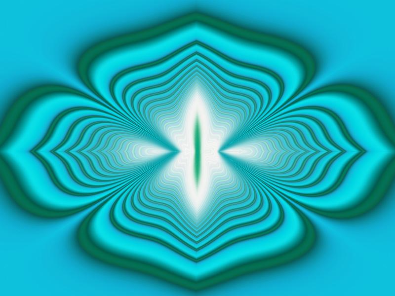 Fractal Art Wallpaper, Wave Effect