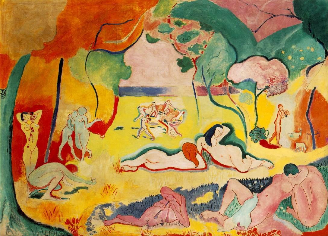 Le bonheur de vivre, Henri Matisse, 1905-06
